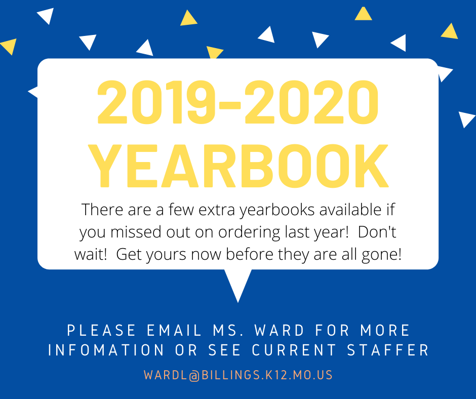 If You Forgot to Order a 2019-2020 Yearbook
