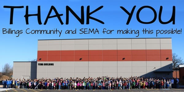 Thank you to our community!